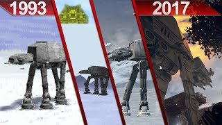 History of Star Wars   AT-AT walkers in PC Games   1993 - 2017