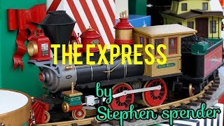 the express by Stephen spender summary