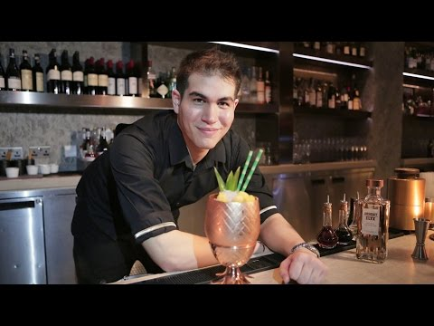 Best Bartender cocktail from Upper House at Café Gray Deluxe by Steven Beerens