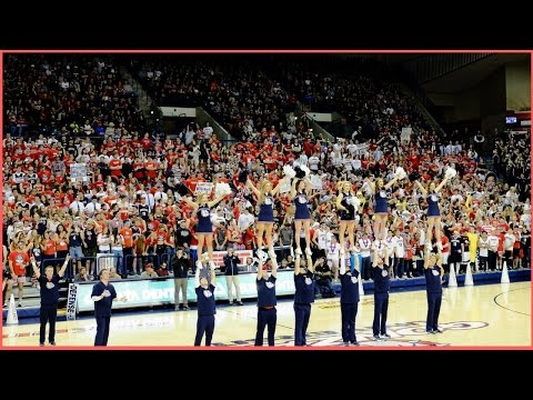 GONZAGA KENNEL CLUB - Zombie Nation Chant - Basketball
