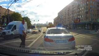 Наказан Дерзкий Гаишник на BMW