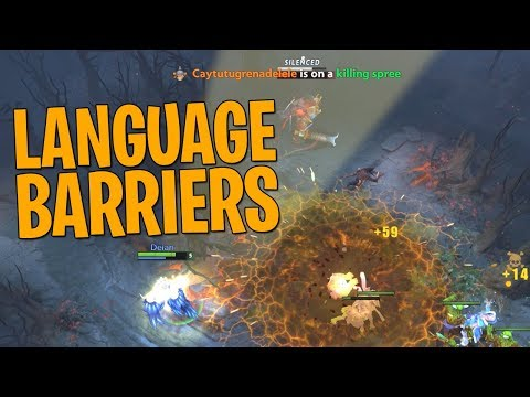 Language Barriers - DotA 2 Techies Full Match