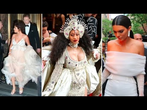 Cardi B, Selena Gomez, Kendall Jenner, Miley Cyrus And More Flock To The 2018 Met Gala