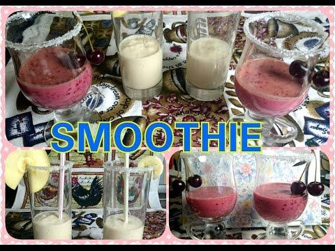 Smoothies |Ягодно-Фруктовый смузи| Delicious Smoothie | Helenlin1