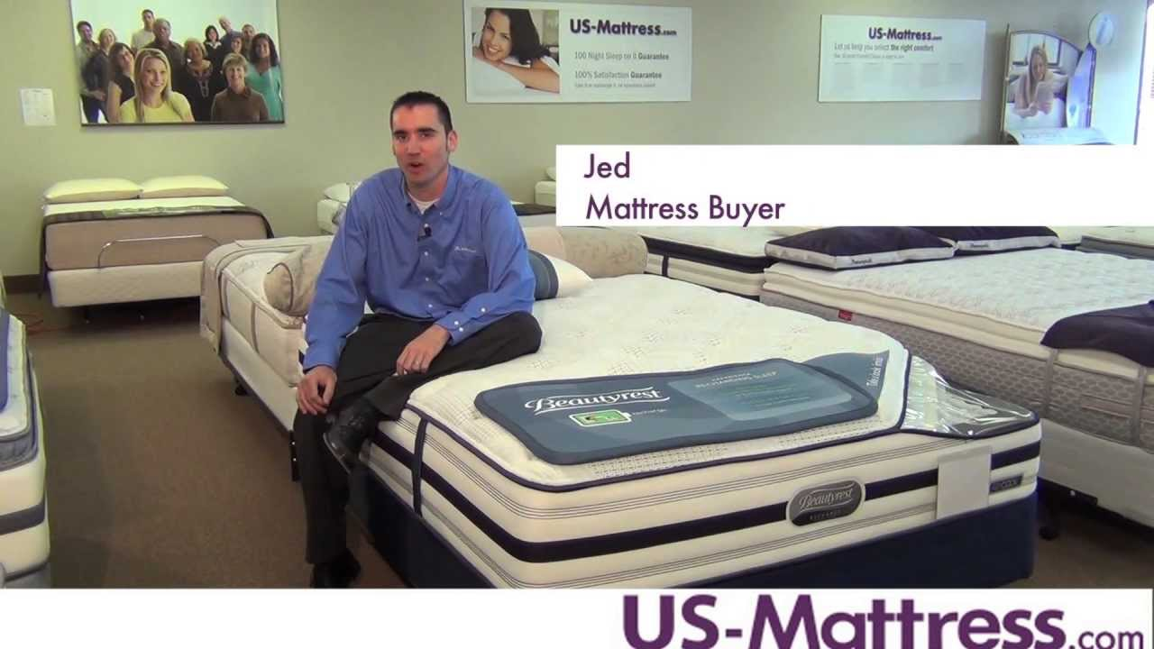 simmons beautyrest recharge world class luxury firm mattress youtube