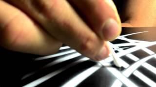 Фарбування акустичної гітари