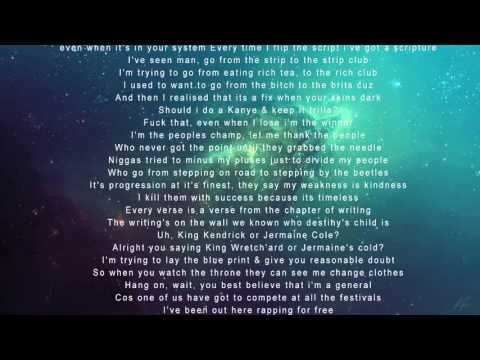 Wretch 32 - Fire In The Booth (FITB) Lyrics Video