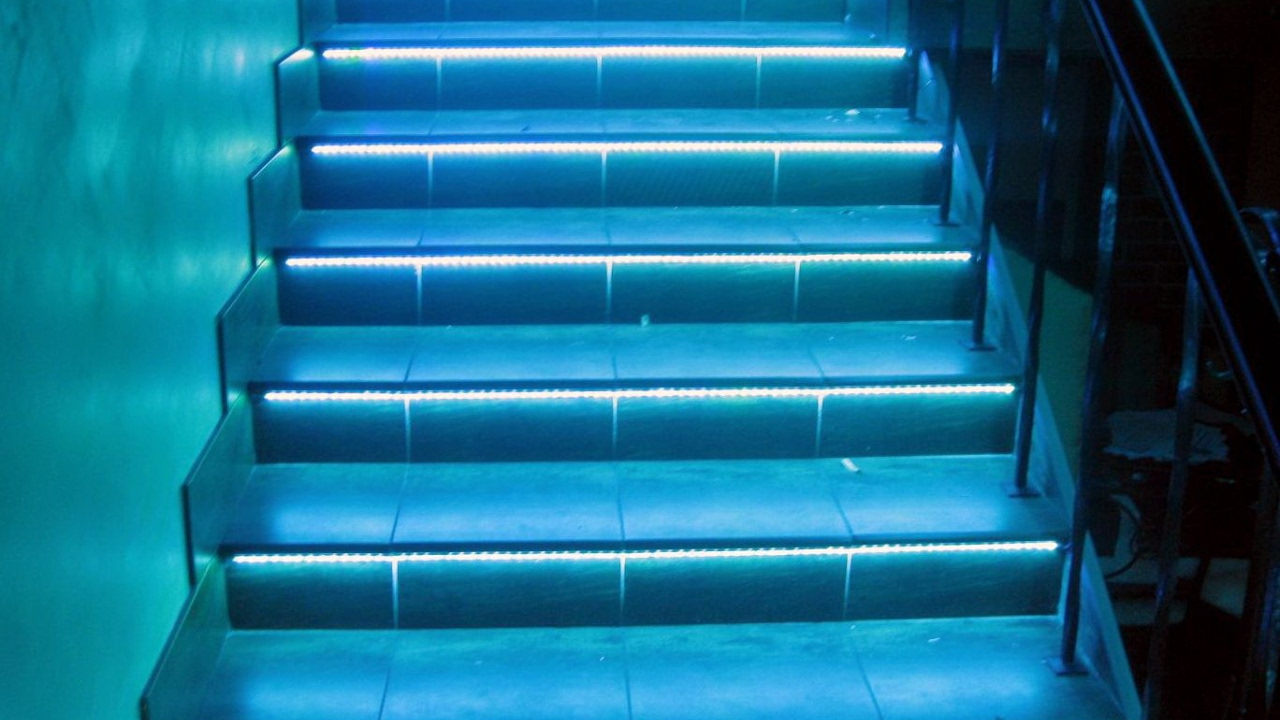 automatic led stair lighting. Automatic LED Stair Lighting \ Led