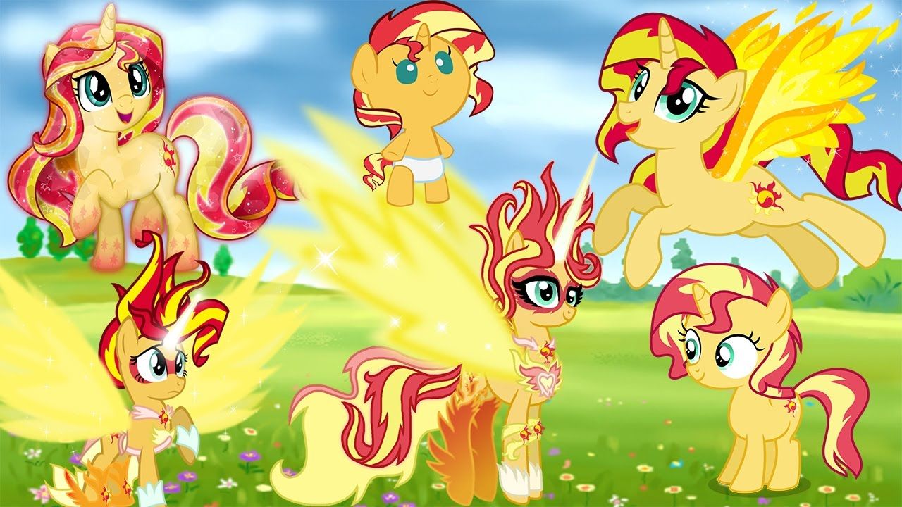 My Little Pony Sunset Shimmer Coloring Pages For Kids