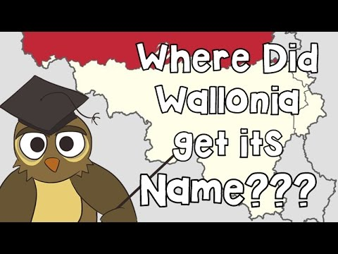 Why is Wallonia Called Wallonia?
