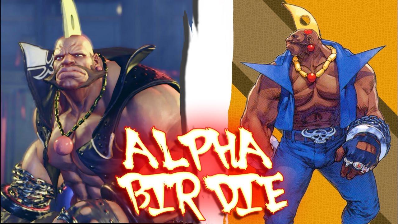 Street Fighter V Pc Mods Alpha Birdie By Bajm Youtube