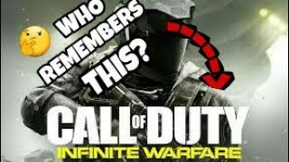 Infinite warfare  - Who remembers this?