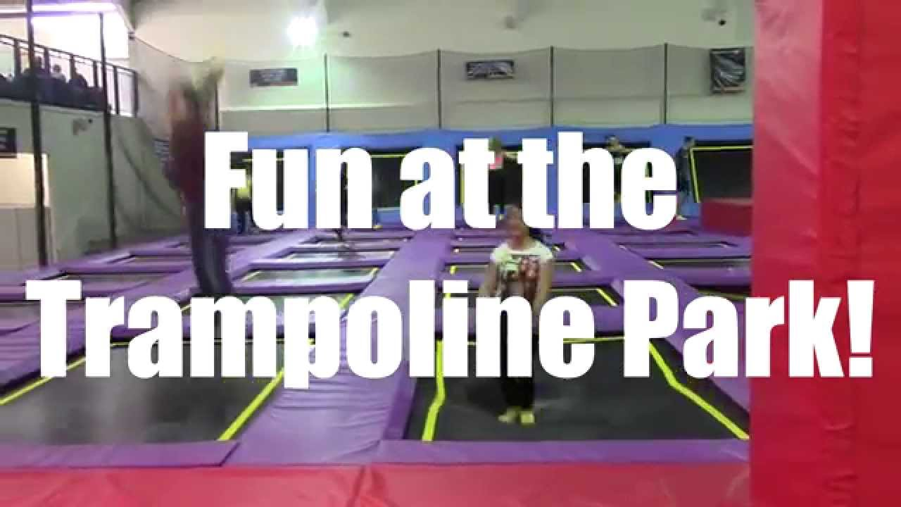 Trampoline Gymnastics!