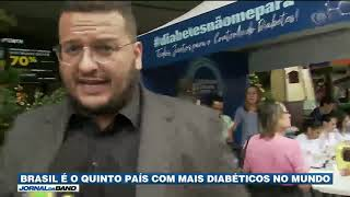 Bike Ybá no JORNAL DA BAND (14/11/2019)
