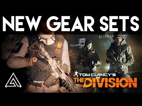 The Division All 5 New Gear Sets In 1.3 - Alpha Bridge, DeadEye & More!