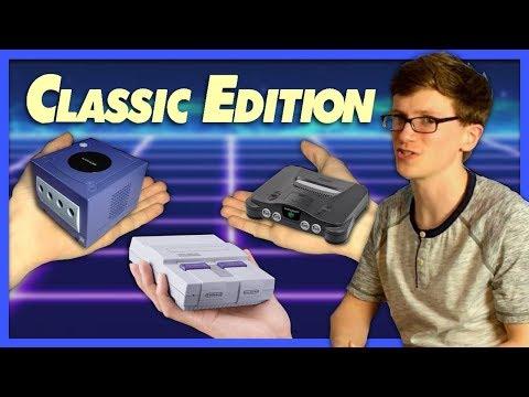 Nintendo Mini Consoles Wish List - Scott The Woz