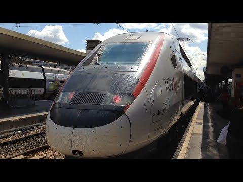2. Paris Gare de Lyon to Zürich Hauptbahnhof on TGV Lyria 384023 - 21/06/2019