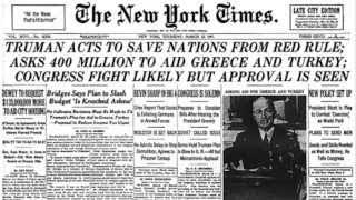 Truman Doctrine Speech (March 12, 1947)