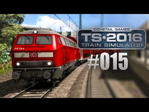 Train Simulator 2016 - Chaos zwischen Hamburg und Lübeck | BR 218 | #015