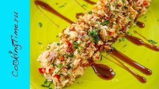 РИС С ТУНЦОМ И ПЕРЦЕМ 🌶 очень простой рецепт - как быстро приготовить ужин