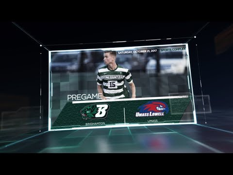 Binghamton Men's Soccer vs. UMASS Highlights