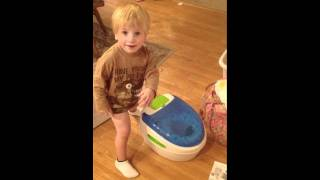 Jacks teaches mommy the true meaning of potty training!