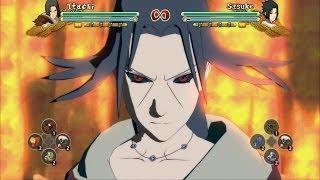 Naruto Shippuden: Ultimate Ninja Storm 3 Full Burst - Uchiha Itachi All Jutsu And Combos
