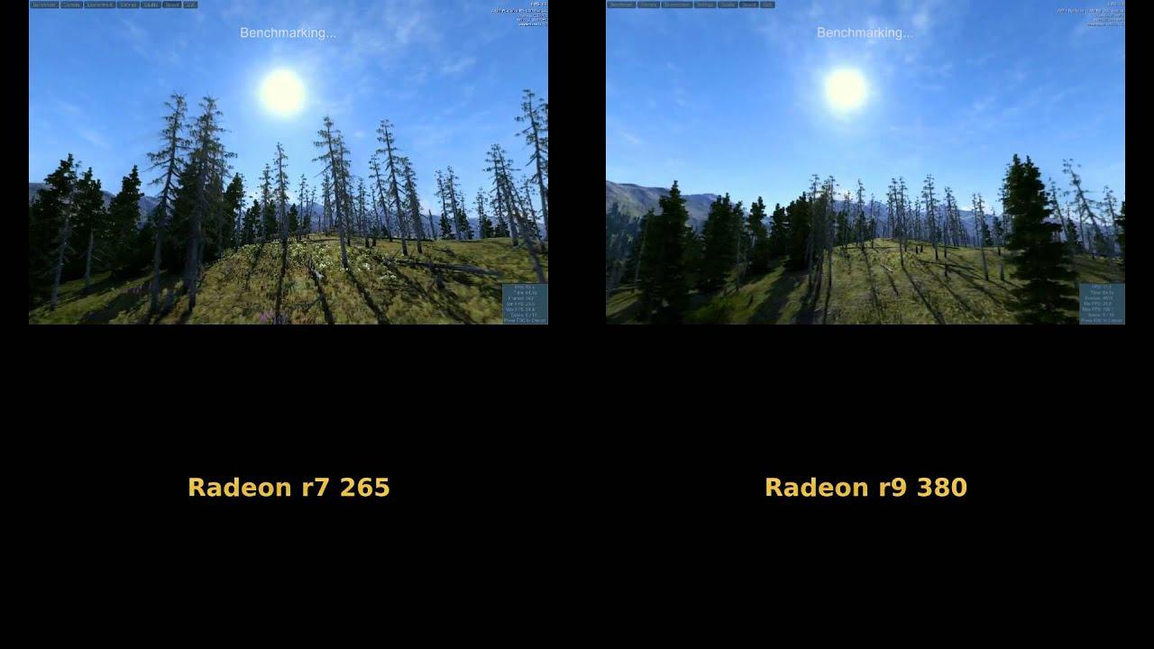 r9 285 vs r9 380