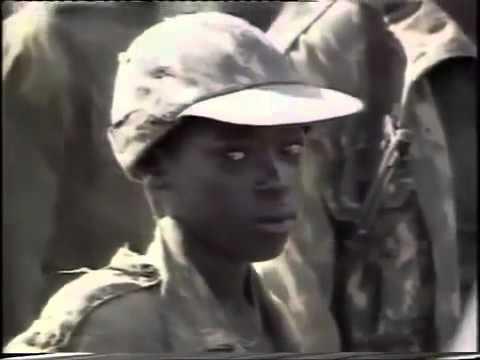 Yoweri Museveni in the Bush  as a rebel Leader before 1986
