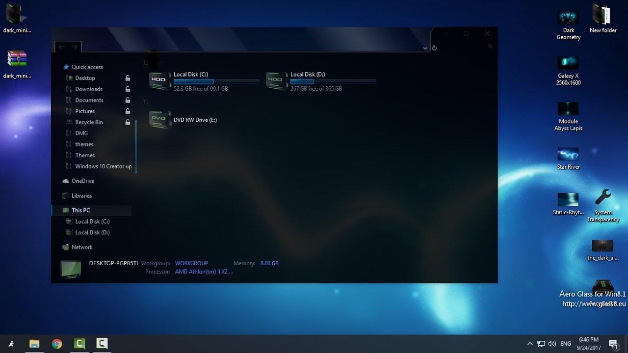 Amd Windows 10 Theme