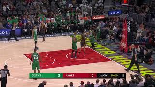 2nd Quarter, One Box Video: Atlanta Hawks vs. Boston Celtics