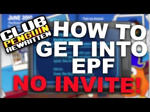Club Penguin Rewritten: How To Get Into EPF | [No Invite]