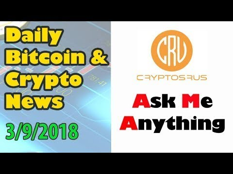 Daily bitcoin and cryptocurrency news