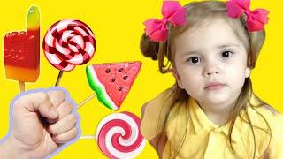 Ариша и детские песни для детей Папа пальчик