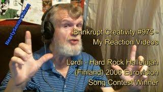 Lordi - Hard Rock Hallelujah : Bankrupt Creativity #975 - My Reaction Videos