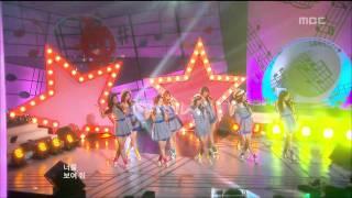 Girls' Generation - Etude, 소녀시대 - 에튀드, Music Core 20090627