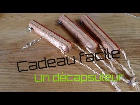 Travail du bois des cadeaux de no l vite fait youtube for Comment fabriquer des objets en bois