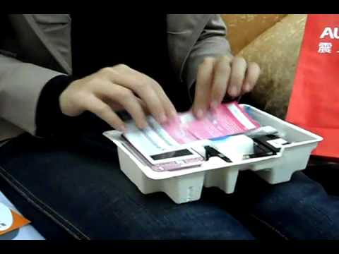 SAMSUNG S5230 Hello Kitty版 開箱unboxing