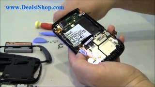 Assembly and Disassembly, cara bongkar pasang Blackberry Torch 9800