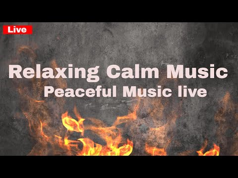 Relaxing music 24/7, calm music, sleep music, meditation music, yoga study music peaceful music live