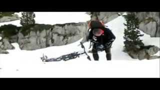 Зимний велосипед, видео проверка на прочность.(Довольно проблематично ехать по прямой, а в гору тащим на себе. Зато весело. Закажите в интернет-магазине..., 2013-05-24T10:34:00.000Z)