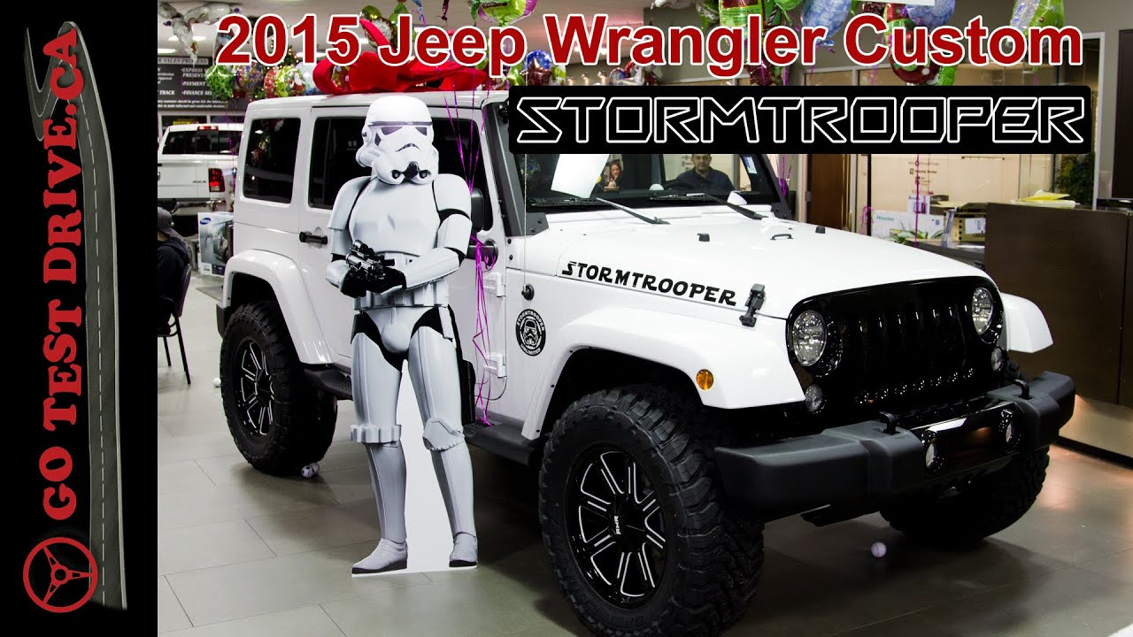 2015 jeep wrangler stormtrooper build - youtube