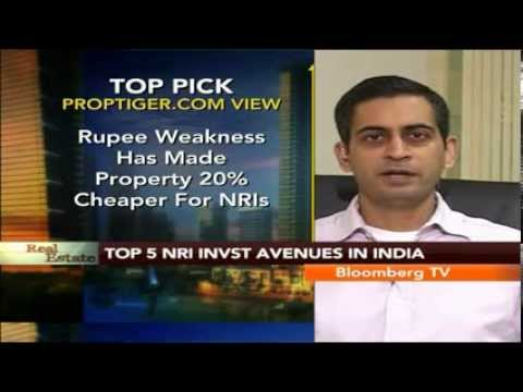 Real Estate- Top 5 NRI Investment Avenues