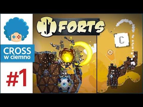 Forts PL #1 z Corle! | Budujemy forty, Corle robi w porty :v