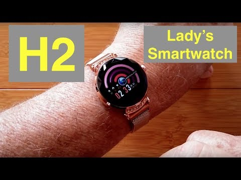 RUNDOING H2 Ladies Fashion Dress Fitness/Health Smartwatch: Unboxing and 1st Look
