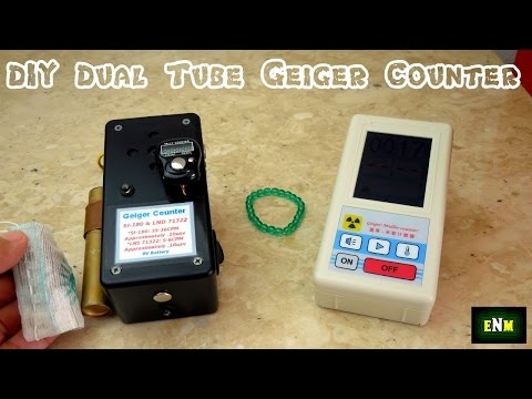 DIY Dual Tube Geiger Counter + A Nice LCD Unit