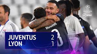 Juventus vs Lyon (2-1, 2-2* on agg) | UEFA CHampions League Highlights