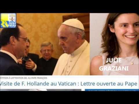 Supplique au pape François : Julie Graziani s'explique sur Radio Vatican