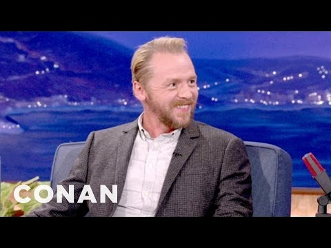 Simon Pegg s Off His 12 Stages Of Drunkenness