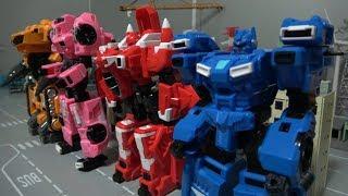 미니특공대X 로봇 장난감 자동차 변신 Miniforce X Robot Toys Car Transformation